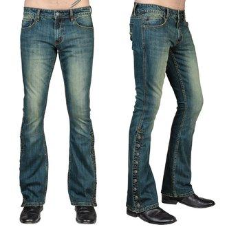 Uomo i pantaloni (jeans) WORNSTAR - Hellraiser - Annata Blu, WORNSTAR