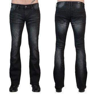 pantaloni (jeans) WORNSTAR - Hellraiser - Annata Nero, WORNSTAR