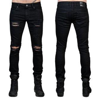 pantaloni (jeans) WORNSTAR - Rampager Shredded - Nero, WORNSTAR