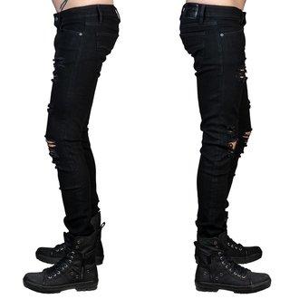 Uomo i pantaloni (jeans) WORNSTAR - Rampager Shredded - Nero, WORNSTAR