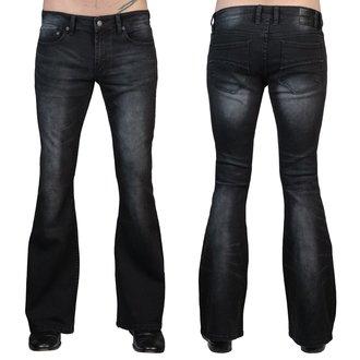 Uomo i pantaloni (jeans) WORNSTAR - Starchaser - Annata Nero, WORNSTAR