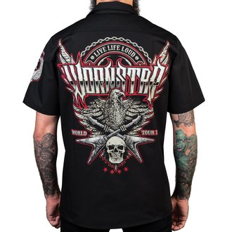 camicia WORNSTAR - Screaming Eagle - Nero, WORNSTAR
