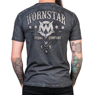 t-shirt hardcore uomo - Chop Shop - WORNSTAR, WORNSTAR
