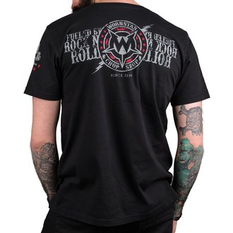 t-shirt hardcore uomo - Electric - WORNSTAR, WORNSTAR