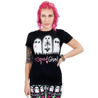 T-shirt gotica e punk donna - BABYDOLL - TOO FAST, TOO FAST