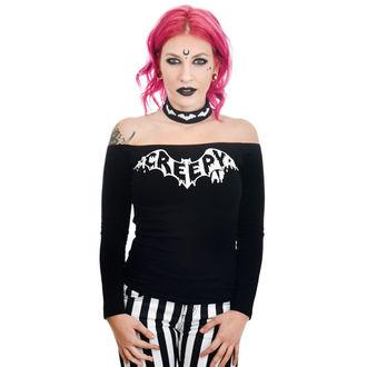 T-shirt gotica e punk donna - TABITHA CHOKER - TOO FAST, TOO FAST