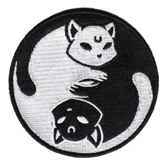 Toppa da stirare (toppa) KILLSTAR - Yin Yang - NERO, KILLSTAR