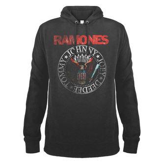 felpa con capuccio uomo Ramones - AMPLIFIED - AMPLIFIED, AMPLIFIED, Ramones