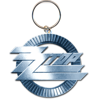 portachiavi - ciondolo ZZ Top (Circle Logo) - ROCK OFF, ROCK OFF, ZZ-Top