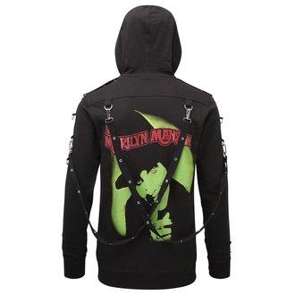 Felpa con cappuccio Unisex KILLSTAR - Marilyn Manson - odori Piace Manson - Nero, KILLSTAR, Marilyn Manson