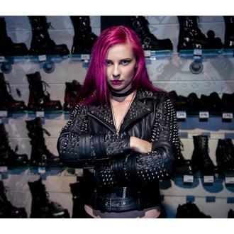 giacca di pelle donna - Metal - KILLSTAR, KILLSTAR