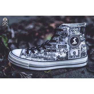 scarpe da ginnastica alte unisex Suicidal Tendencies - CONVERSE, CONVERSE, Suicidal Tendencies