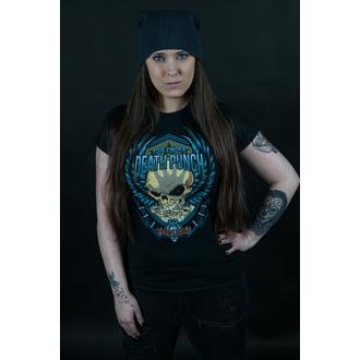 t-shirt metal donna Five Finger Death Punch - Trouble - ROCK OFF, ROCK OFF, Five Finger Death Punch