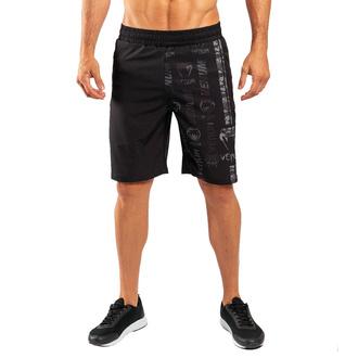 Pantaloncini da uomo VENUM - Logos Training - Nero / Urban Camo, VENUM