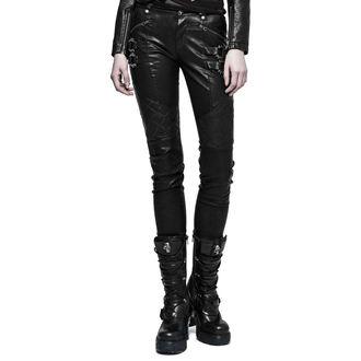 pantaloni PUNK RAVE - K-297 Mantrap leather, PUNK RAVE