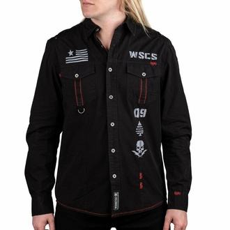 Camicia da uomo a maniche lunghe WORNSTAR - Battalion, WORNSTAR