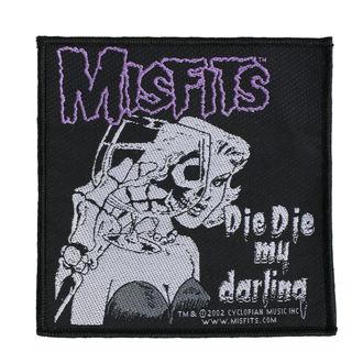 toppa MISFITS - DIE DIE MY DARLING - RAZAMATAZ, RAZAMATAZ, Misfits