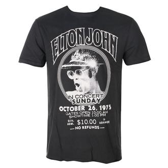 t-shirt metal uomo Elton John - LIVE IN CONCERT - AMPLIFIED, AMPLIFIED, Elton John