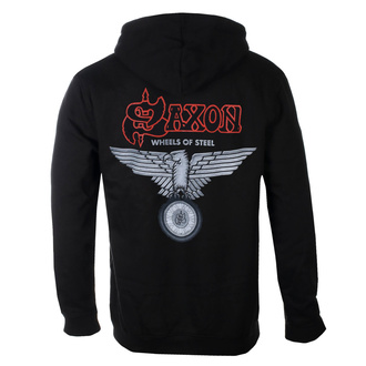 Felpa con cappuccio da uomo Saxon - Wheels Of Steel - RAZAMATAZ, RAZAMATAZ, Saxon