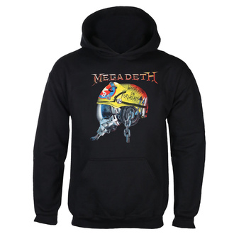 felpa con capuccio uomo Megadeth - FULL METAL VIC - PLASTIC HEAD, PLASTIC HEAD, Megadeth