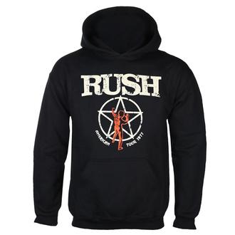 felpa con capuccio uomo Rush - AMERICAN TOUR 1977 - PLASTIC HEAD, PLASTIC HEAD, Rush