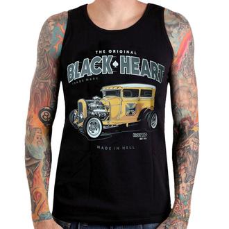 Canotta BLACK HEART - YELLOW BOY HOT ROD - NERO - 002-0044-BLK