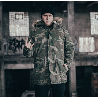 giacca URBAN CLASSICS - Garment Parka - legno camo, URBAN CLASSICS