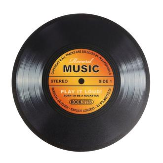 tappetino per il mouse  Disco Musica - Gold - ROCKBITES, Rockbites