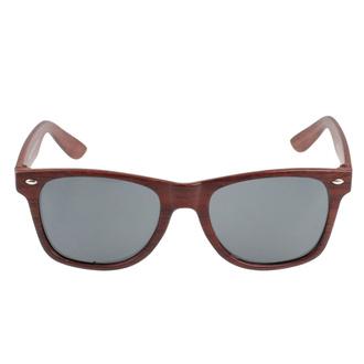 Occhiali da sole Classico - wood look - ROCKBITES, Rockbites