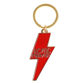 Portachiavi ad anello (pendente)  AC  /  DC  - POWER UP - Bullone - RAZAMATAZ, RAZAMATAZ, AC-DC