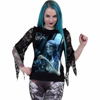 Maglietta da donna a maniche lunghe SPIRAL - GLOW IN THE DARK - Nero, SPIRAL