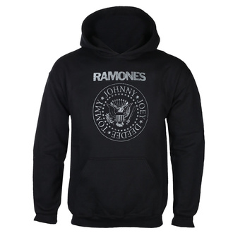 Felpa da uomo con cappuccio RAMONES - CLASSIC LOGO - NERO - GOT TO HAVE IT, GOT TO HAVE IT, Ramones