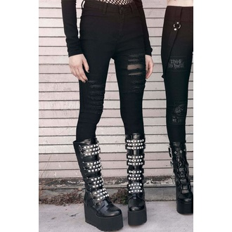 Pantaloni da donna KILLSTAR - About A Demon Jeans, KILLSTAR