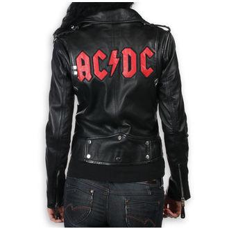 giacca di pelle donna AC-DC - LNTC Black - NNM