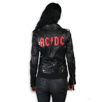 giacca di pelle donna AC-DC - LNTC Black - NNM, NNM, AC-DC