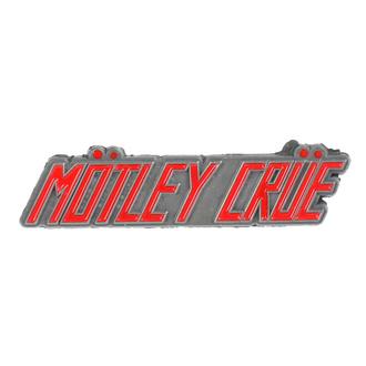 targhetta Mötley Crüe - Logo - RAZAMATAZ, RAZAMATAZ, Mötley Crüe