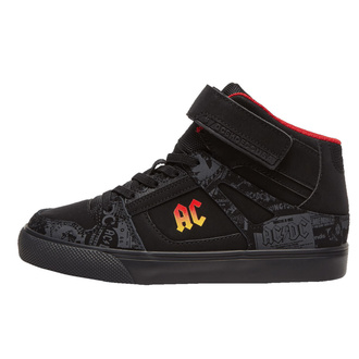 Scarpe da donna DC -  AC/DC - TNT - HIGH TOP - GRADIENTE NERO, DC, AC-DC