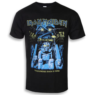 t-shirt metal uomo Iron Maiden - Back In Time Mummy - ROCK OFF, ROCK OFF, Iron Maiden