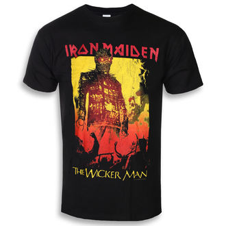 t-shirt metal uomo Iron Maiden - The Wicker Man Fire - ROCK OFF, ROCK OFF, Iron Maiden