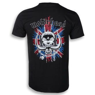 t-shirt metal uomo Motörhead - British Warpig & Logo - ROCK OFF, ROCK OFF, Motörhead
