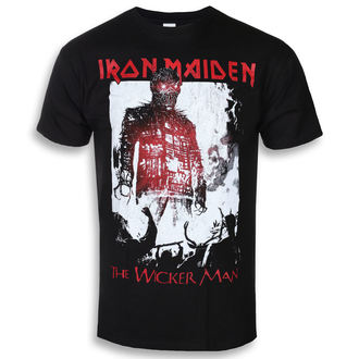 t-shirt metal uomo Iron Maiden - The Wicker Man Smoke - ROCK OFF, ROCK OFF, Iron Maiden
