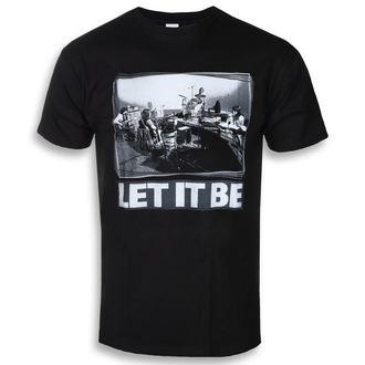 t-shirt metal uomo Beatles - Let It Be Studio - ROCK OFF, ROCK OFF, Beatles