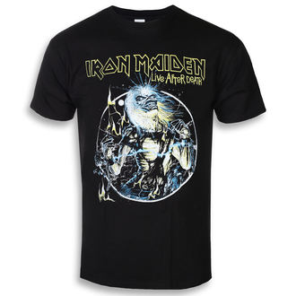 t-shirt metal uomo Iron Maiden - Live After Death - ROCK OFF, ROCK OFF, Iron Maiden