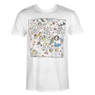 Maglietta da uomo Led Zeppelin - III Album - bianca, NNM, Led Zeppelin