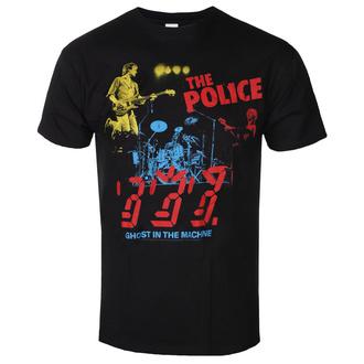 t-shirt metal uomo Police - POLICE IN CONCERT - LIQUID BLUE, LIQUID BLUE, Police