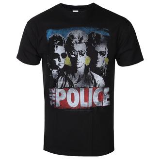 t-shirt metal uomo Police - GREATEST HITS - LIQUID BLUE, LIQUID BLUE, Police