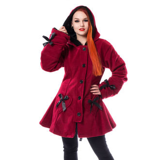 cappotto POIZEN INDUSTRIES - ALISON - ROSSO, POIZEN INDUSTRIES