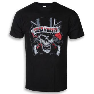 t-shirt metal uomo Guns N' Roses - Distressed Skull - ROCK OFF, ROCK OFF, Guns N' Roses