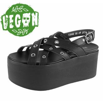 Sandali da donna scarpe ALTERCORE - Nitta Vegan - Nero, ALTERCORE
