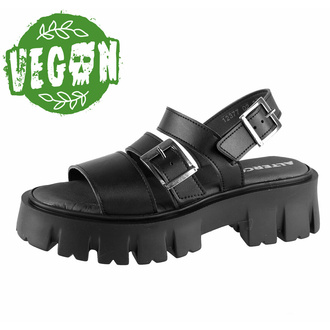 Sandali da donna ALTERCORE - Susie Vegan - Nero, ALTERCORE